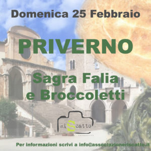 Priverno sagra falia e broccoletti