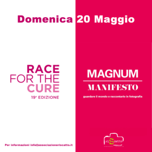 race for the cure magnum manifesto