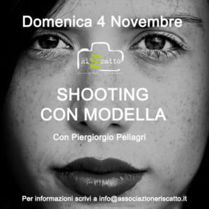 dark shooting con modella